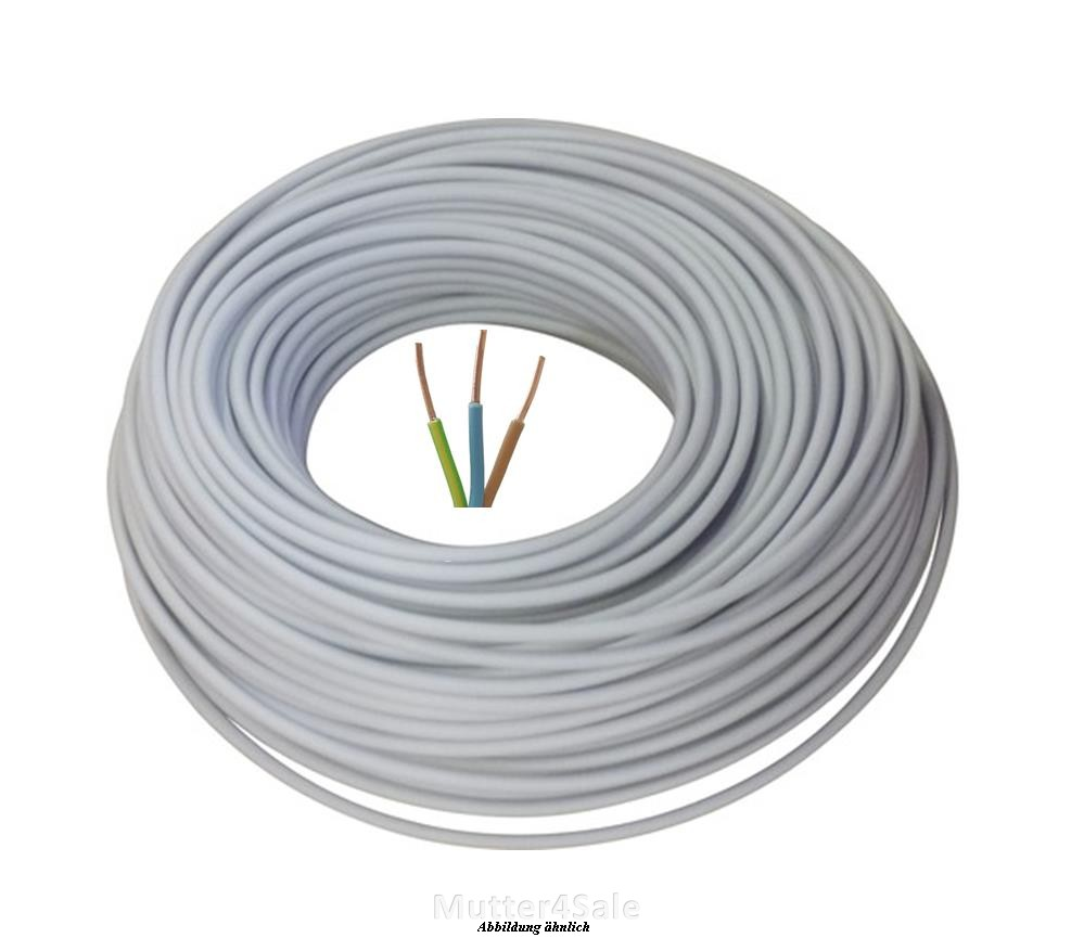 100m 3x2 5 nym cable power cable electric cable ebay. Black Bedroom Furniture Sets. Home Design Ideas